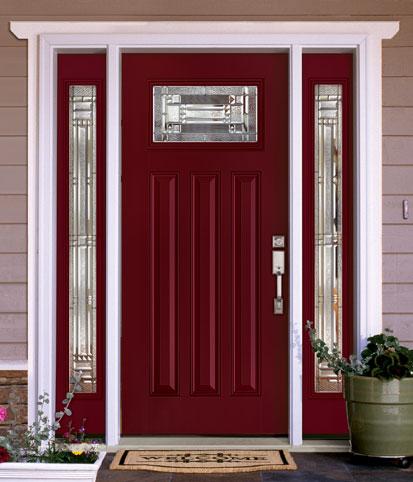 feather river doors pre painted doors. Black Bedroom Furniture Sets. Home Design Ideas